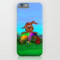 Easter Rabbit - Spring A… iPhone 6 Slim Case