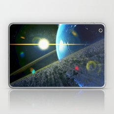 until the moon is no more. Asteroid Field on Earth Laptop & iPad Skin