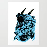 I Don't Know You But I Hate You Art Print