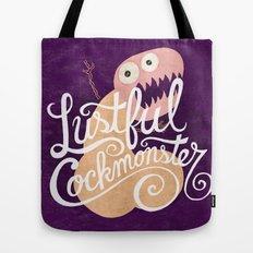 Lustful Cockmonster Tote Bag