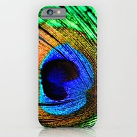 In the Peacock Mood iPhone 6 Slim Case