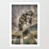 Steel Horse Art Print