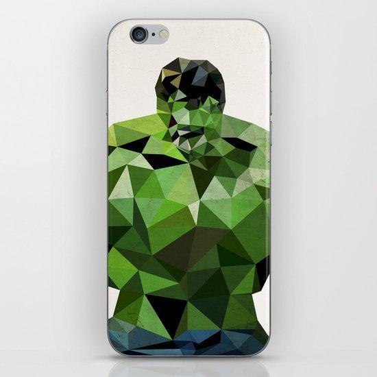 Polygon Heroes - Hulk iPhone & iPod Skin