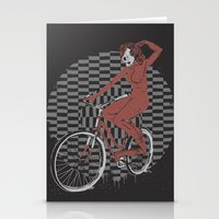 The Devil Will Ride Stationery Cards