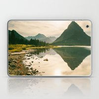 Mountain Reflecting The … Laptop & iPad Skin