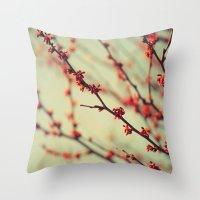 When Spring Was Autumn..… Throw Pillow