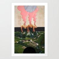 The Noon Guns (Front) Art Print
