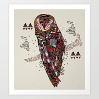 HATKEE Collaboration by Kyle Naylor and Kris Tate Art Print