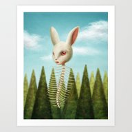 Art Print featuring Spine by Luz Tapia Art
