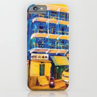 iPhone & iPod Case featuring blue house (hong kong) by Olives Lo