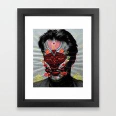 Mask 29 Framed Art Print
