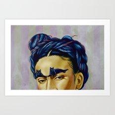 Frida Kat-lo Art Print