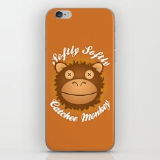 Softly Softly Catchee Monkey iPhone & iPod Skin