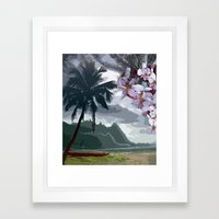 The Storm is Passing Framed Art Print