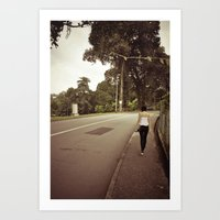 His And Her Journey.. Art Print