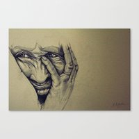 Worry Canvas Print