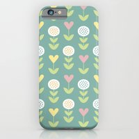 iPhone & iPod Case featuring Flower pattern by Hello Olive Designs