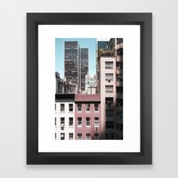 View Of NYC From A MoMa … Framed Art Print