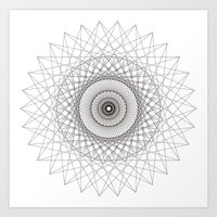 Mental Lie Art Print