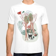 A Stick-Insects Dream SMALL White Mens Fitted Tee