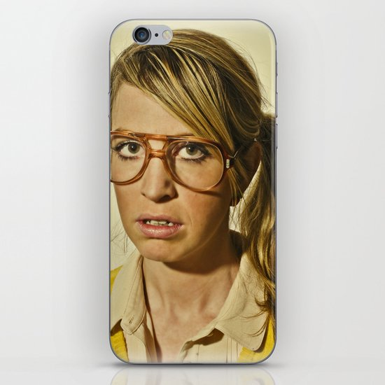 i.am.nerd. :: lizzy c. iPhone & iPod Skin