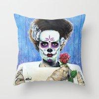 BRIDE OF THE DEAD Throw Pillow
