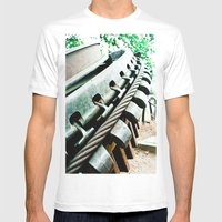 Remnant Of Mt. Lowe Rail… Mens Fitted Tee White SMALL