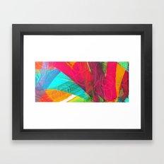 Embossed Monotype Framed Art Print