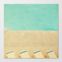 Dip Canvas Print