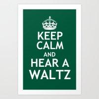 Keep Calm And Broadway: … Art Print