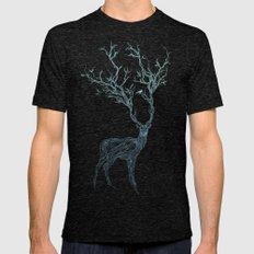 Blue Deer Mens Fitted Tee Tri-Black MEDIUM
