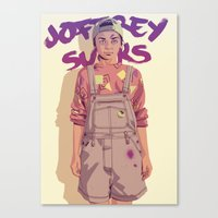 80/90s - A. Canvas Print