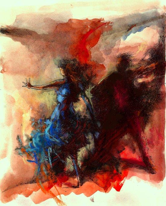 Renk Kuşağı Art Print