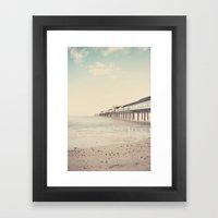 The Sea ... Framed Art Print