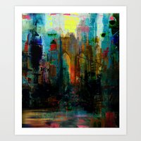 A moment in your city Art Print