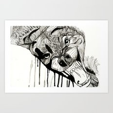 Fight! Art Print