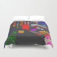Colorblind Duvet Cover