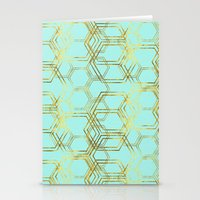 Hexagold Stationery Cards
