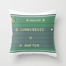 The Match Point Throw Pillow