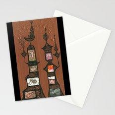 I Love You, Hundertwasser #5 Stationery Cards