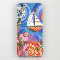 Summer Harbor iPhone & iPod Skin