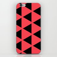 Sleyer Black On Pink Pat… iPhone & iPod Skin