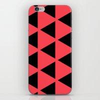 Sleyer Black on Pink Pattern iPhone & iPod Skin