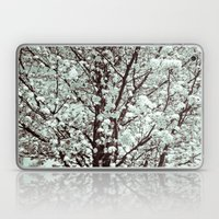 Winter Petals Laptop & iPad Skin