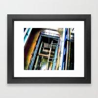Tubenet Framed Art Print