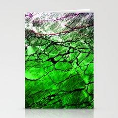 Green Labradorite Crystal Stationery Cards