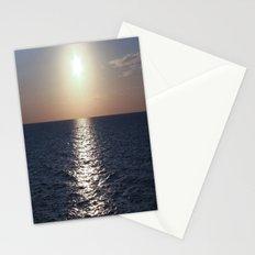 Sunset, Santorini Stationery Cards