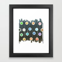 Chaord #1 Framed Art Print