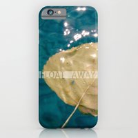 iPhone & iPod Case featuring float away by cubik rubik