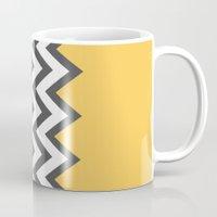 Color Blocked Chevron 6 Mug